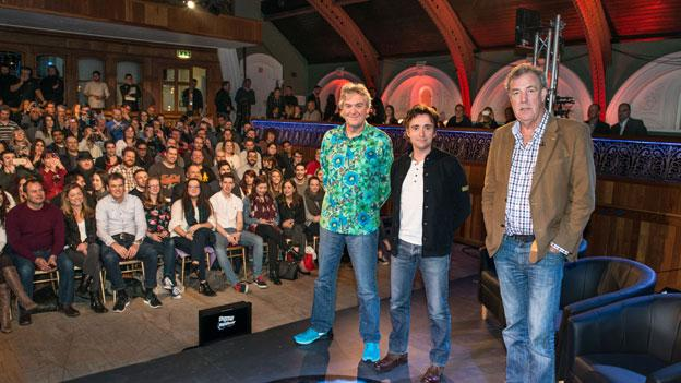 Jeremy Clarkson is to appear on planned live dates with his former Top Gear co-stars Richard Hammond and James May, BBC Worldwide announces.
