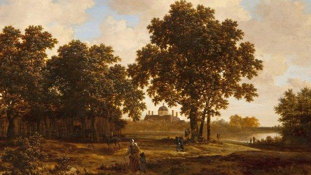 The Dutch royal family says it will return a painting believed to have been confiscated from Jewish owners during World War Two.