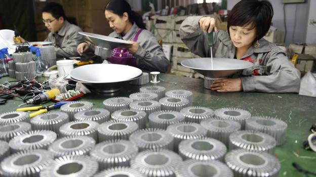 Activity in China's vast manufactory sector picked up unexpectedly in March, according to the official government survey.