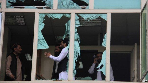Islamic State claims responsibility for an an explosion that killed at least 33 people and injured 100 in the eastern Afghan city of Jalalabad.