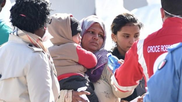 Pope Francis urges the international community to do more to tackle the rising number of migrants making desperate journeys across the Mediterranean.