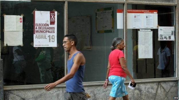 For the first time in Cuba, at least two government opponents will be standing on Sunday in municipal elections in Havana.