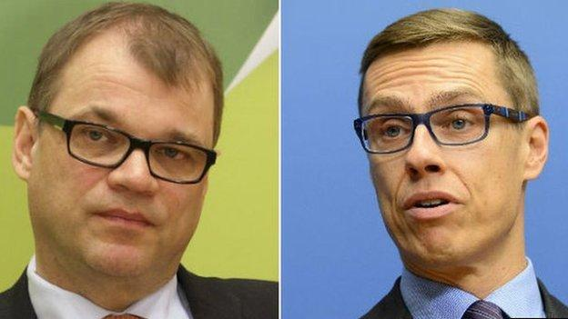 Finnish voters go to the polls amid hopes that a new government will pull the country out of its three-year economic slump.