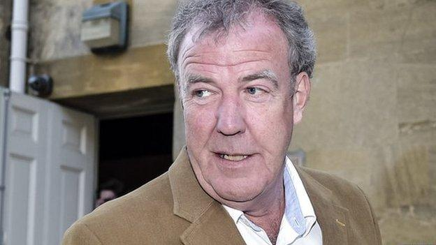 "Former Top Gear presenter Jeremy Clarkson reveals doctors told him a lump on his tongue was ""probably cancer"" two days before he hit a BBC producer."