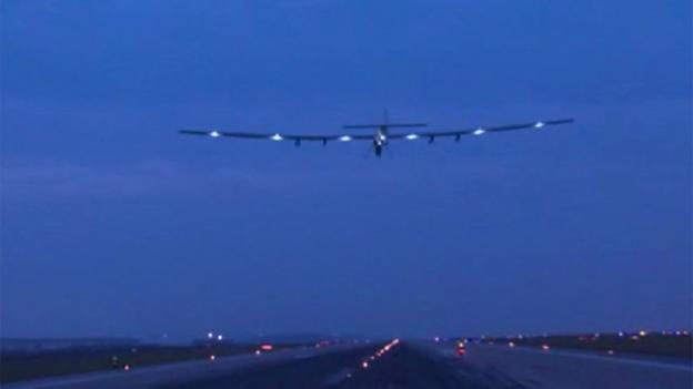 The round-the-world, fuel-free aeroplane, Solar Impulse, head to Nanjing to prepare for an epic Pacific crossing.