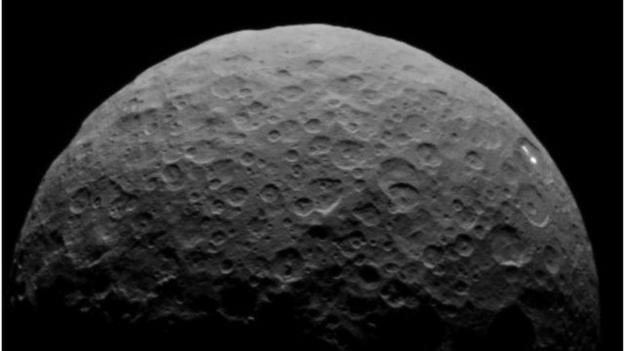 The mysterious bright spots on the dwarf planet Ceres are back in view.
