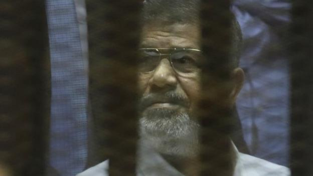 Egypt's ousted President Mohammed Morsi gets a 20 year jail sentence over the abuse of protesters during his rule, the first of many verdicts he faces.