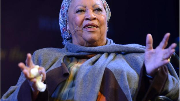 Award-winning author Toni Morrison condemns the killing of several black men by white police officers.