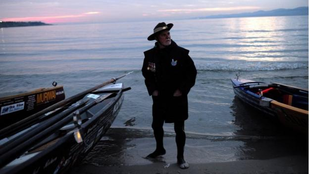 Australia and New Zealand hold ceremonies to mark the centenary of the military landings at Gallipoli during the First World War.