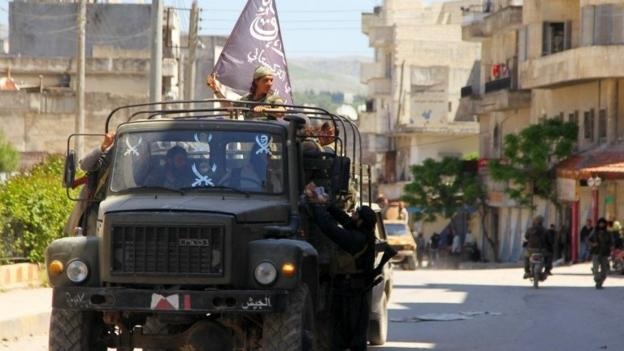 Islamist rebels have captured much of the north-western Syrian town of Jisr al-Shughur from government forces, activists say.