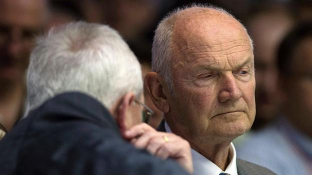 Ferdinand Piech, the chairman of VW, Europe's biggest carmaker, resigns after a power struggle with his chief executive.