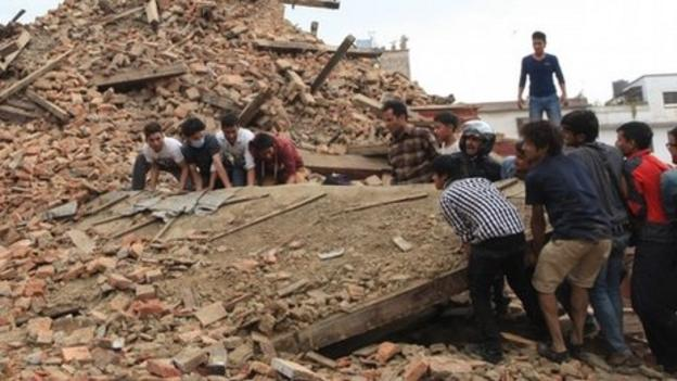 Rescue efforts in Nepal intensify after nearly 2,000 died in the country's worst quake in more than 80 years, as a powerful aftershock hits the region.