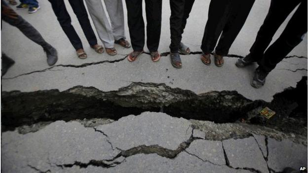 Nepal's devastating magnitude-7.8 earthquake on Saturday was primed over 80 years ago by its last massive earthquake in 1934, geologists working in the region say.