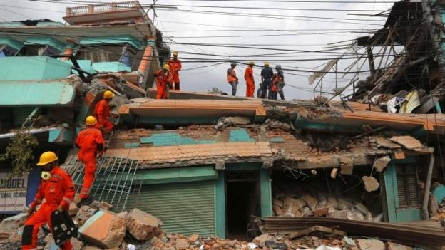 Rescue efforts intensify after more than 2,300 die in Nepal's worst quake in more than 80 years, as a powerful aftershock hits the region.