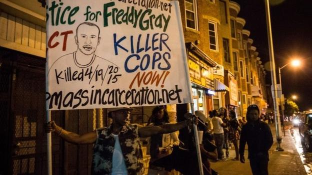 Baltimore lifts a night-time curfew imposed this week, after riots sparked by the death of a black man in police custody.