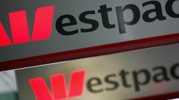 One of Australia's biggest lenders, Westpac, missed expectations and posted a cash profit of 3.78bn Australian dollars ($2.98bn; £1.96bn) for the six months to March.