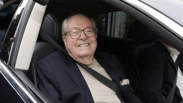 France's National Front suspends founder Jean-Marie Le Pen over a series of inflammatory remarks and a feud with his daughter Marine.