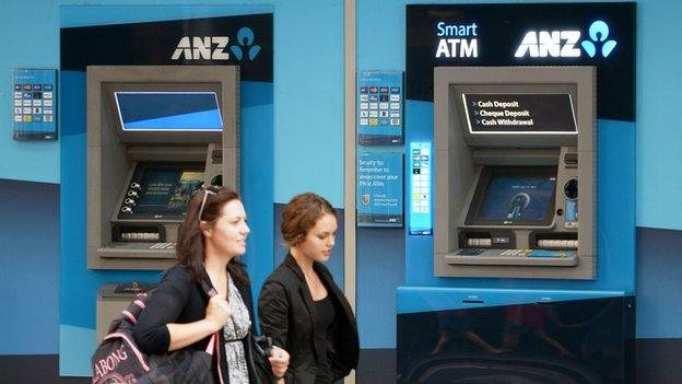 One of Australia's biggest lenders, ANZ, has beaten expectations and posted a half-year cash profit of 3.7bn Australian dollars ($2.9bn;£1.91bn) in the six months ending in March.