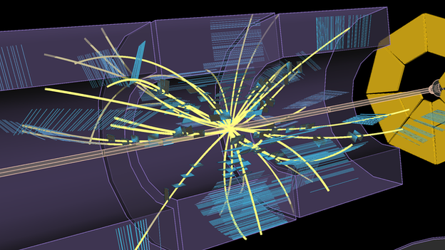For the first time since 2013, the Large Hadron Collider smashes protons together - albeit at fairly low energies for now.