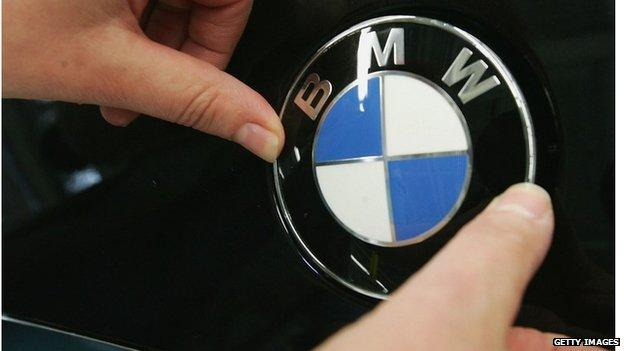 German carmaker BMW speeds past quarterly earnings expectations, thanks to strong SUV sales.