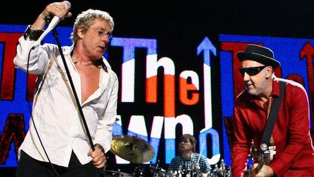 The Who are revealed as Glastonbury Festival's Sunday night headliner, joining Foo Fighters and Kanye West at the top of the bill.