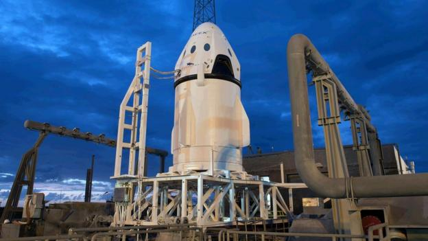 SpaceX is set to conduct an unmanned test of the launch escape system it will use on its Dragon astronaut capsule.
