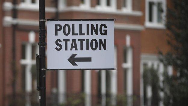 Millions of people are set to cast their votes in the UK general election with council seats across England also up for grabs.