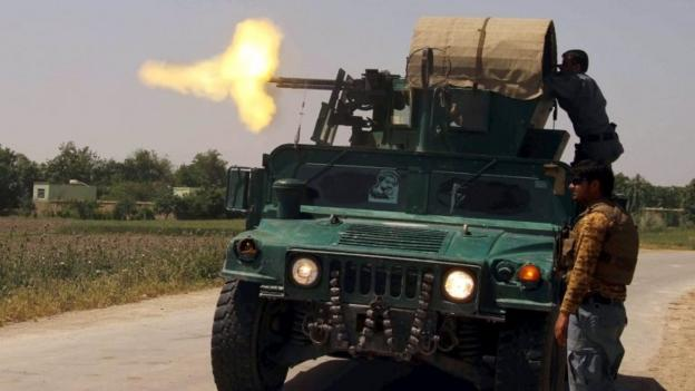 The Afghan government launches a major counter-offensive against Taliban forces threatening the north-eastern provincial capital of Kunduz.