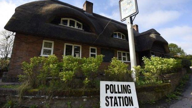 Millions of people have begun casting their votes in the UK general election with council seats across England also up for grabs.