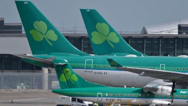 The Irish government agrees to sell its 25% stake in Aer Lingus to IAG, the owner of British Airways.