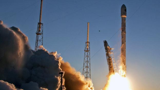 The US Air Force clears billionaire Elon Musk's SpaceX to launch military and spy satellites.