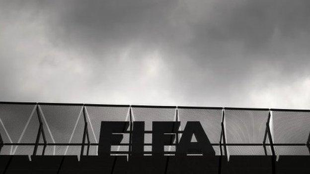 Fifa officials took bribes over more than 20 years to allocate tournaments and rig elections, US law enforcement officials say.