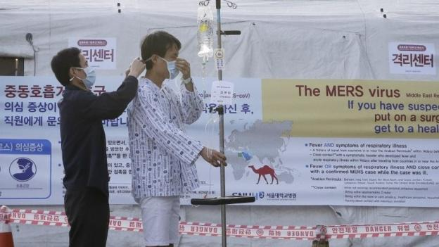 Two people die of Middle East Respiratory Syndrome (Mers) in South Korea - the first fatalities from the disease, officials say.