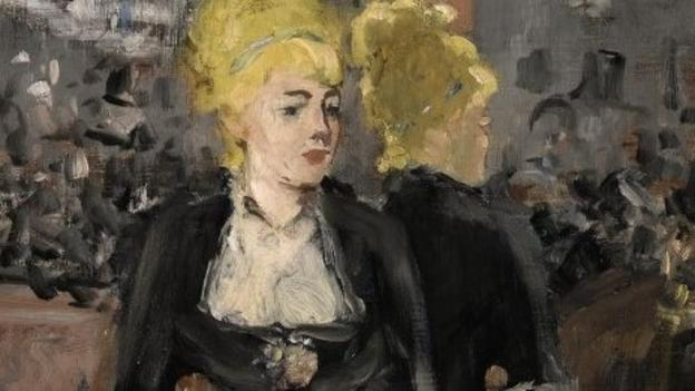 An oil painting of a French barmaid, considered one of the defining images of French impressionism, is to be sold at auction later this month.