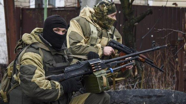 Fierce fighting is raging between Ukrainian government forces and pro-Russian rebels in eastern Ukraine despite a truce deal, officials say.