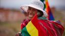 Bolivia, La Paz, Bolivian Woman (Credit: Credit: David Noton Photography/Alamy)