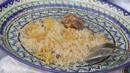 Beautiful plate of oshi palav (Credit: Amanda Ruggeri)