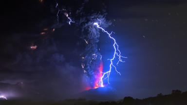 BBC Earth Playing With Time In Wildlife Filmmaking - A lightning storm synchronised with dramatic music