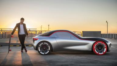 sports cars opel gt concept