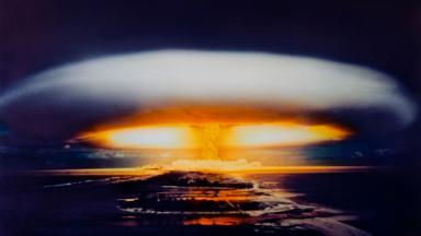 Nuclear test (Credit: ALAMY)