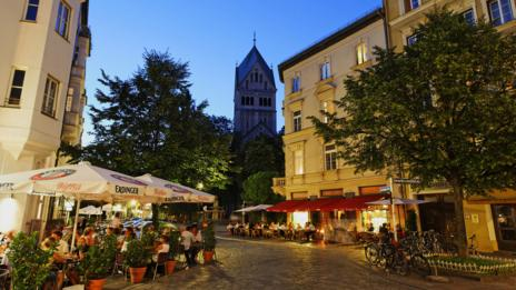 Lehel, a neighbourhood in Munich's Old Town, is home to many foreign embassies. (Credit: Franz Marc Frei/Look/Getty)