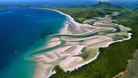 Great Barrier Reef, Whitehaven Beach, Australia, beach, ocean (Credit: Gonzalo Azumendi/Getty)