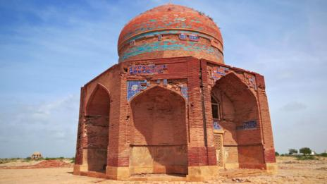 The tomb of Mir Sultan Ibrahim, a ruler of the Tarkhan dynasty, Pakistan, Makli (Credit: Urooj Qureshi)