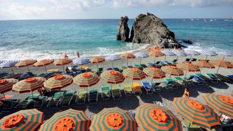 Cinque Terre, Italy, Beach (Credit: Credit: AGF/Contributor/Getty Images)
