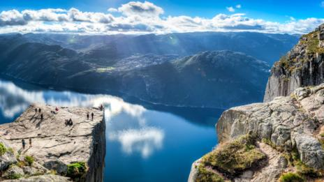 Preikestolen, Pulpit Rock, Norway (Credit: Credit: Wei Hao Ho/Alamy)