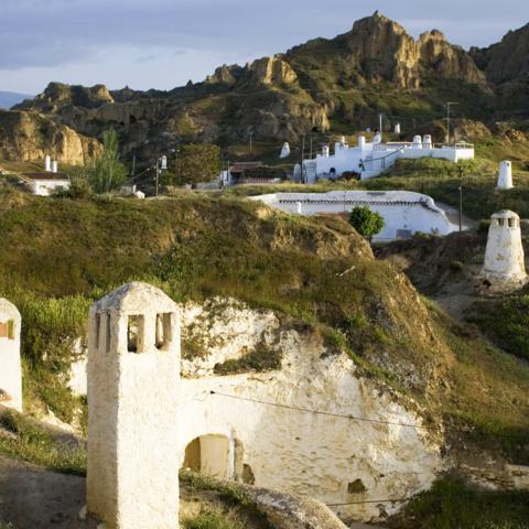 Guadix, Cave dwellings, Spain (Credit: Credit: age fotostock/Alamy)