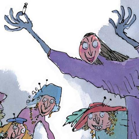 (Credit:Illustration (c) Quentin Blake, 1997)