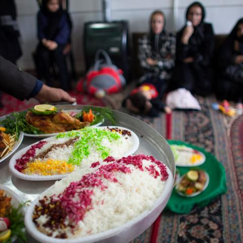 Iran, food (Credit: Credit: Majid Saeedi/Getty)