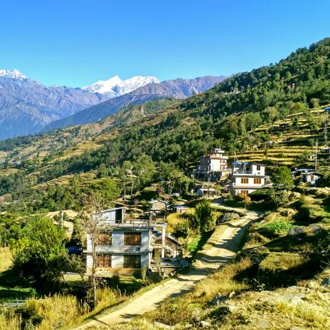 Nepal, village (Credit: Credit: Amrit Sharma)