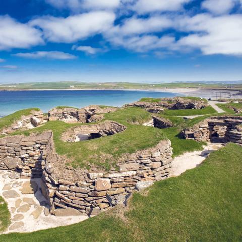 Skara Brae is a 5,000-year-old village